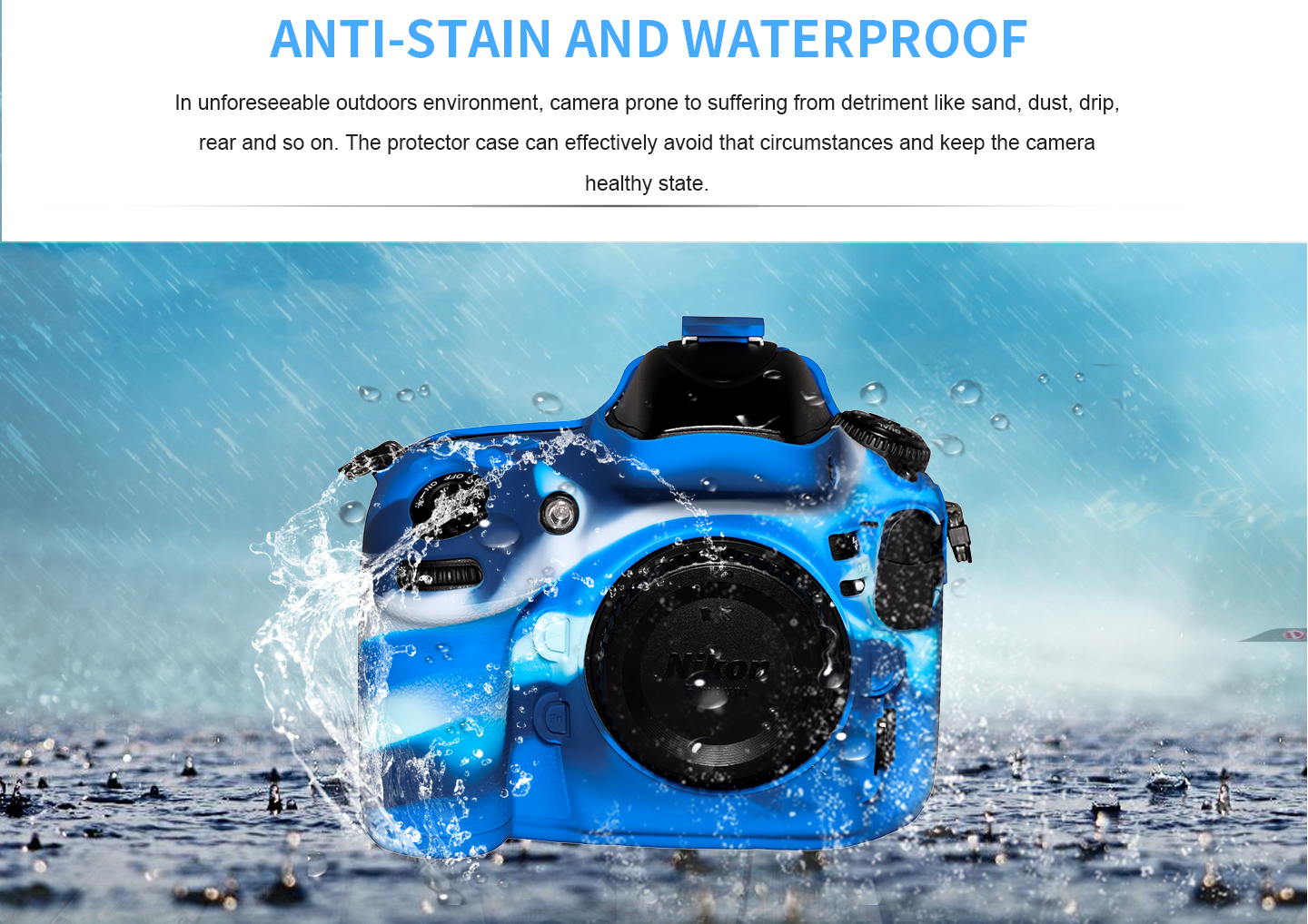 ANTI-STAIN AND WATERPROOF