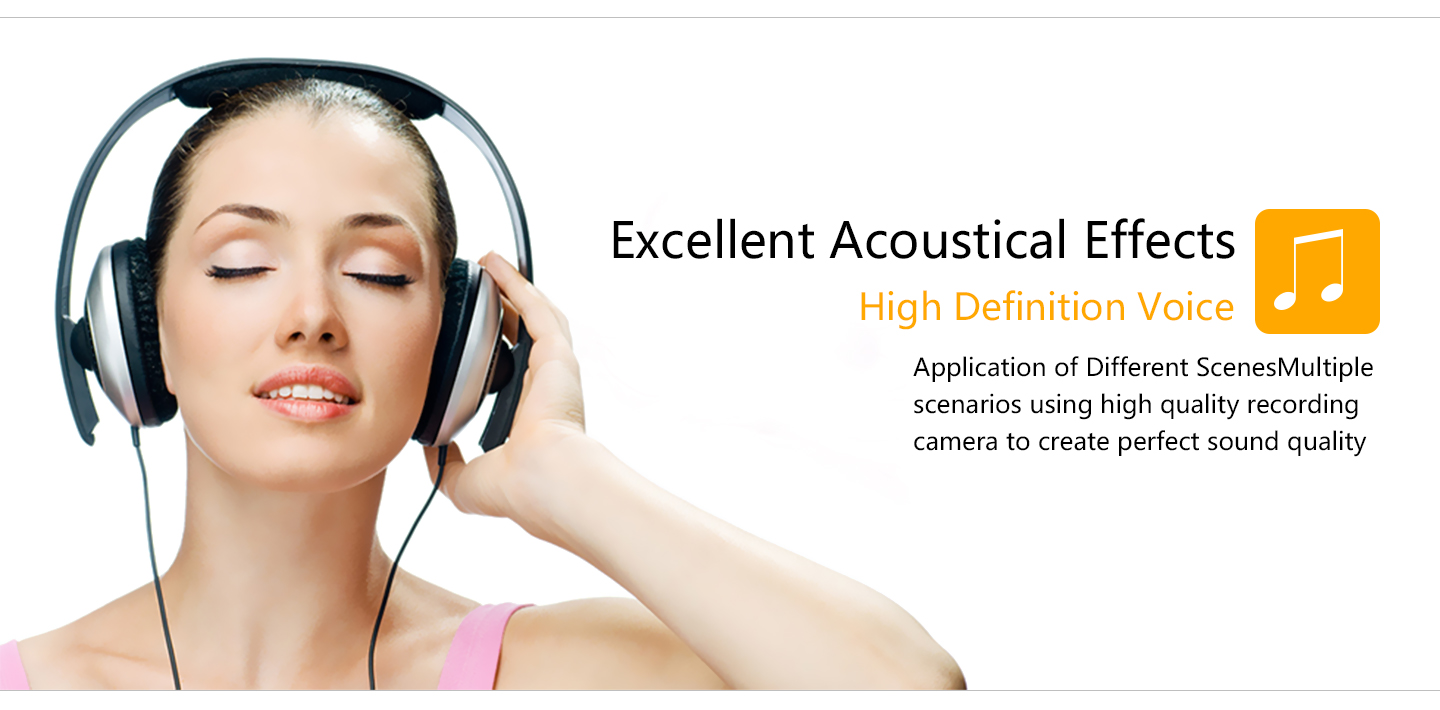 Excallent Acoustical Effects