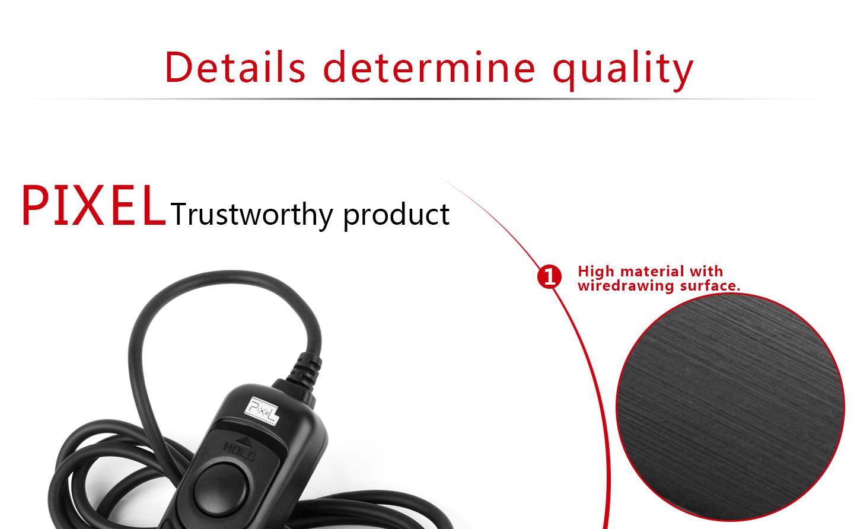 Details determine quality