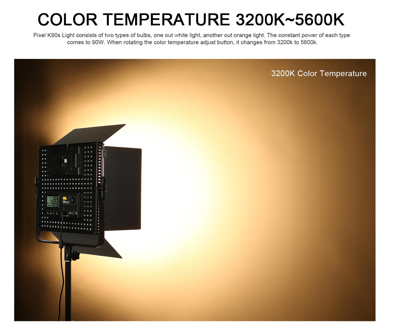 COLOR TEMPERATURE 3200K~5600K