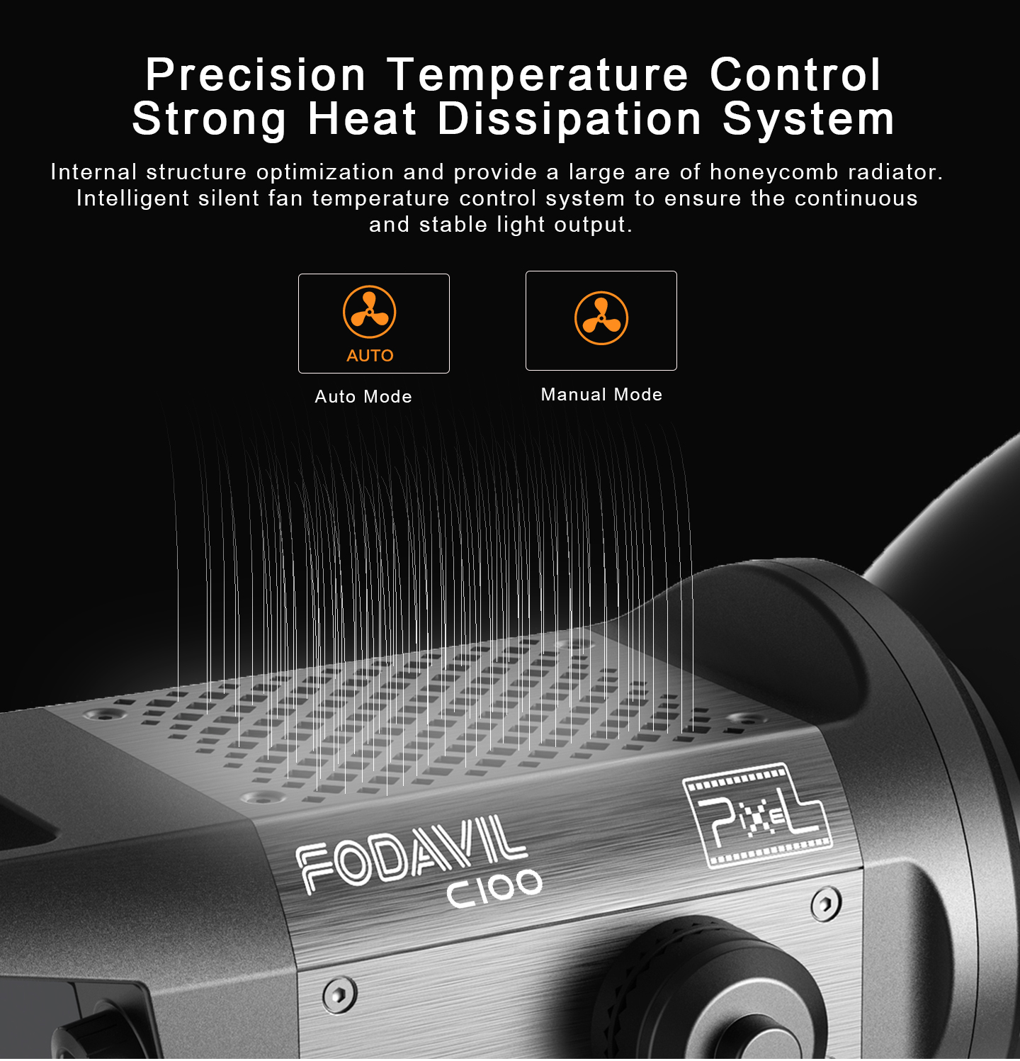 Precision Temperature Control Strong Heat Dissipation System