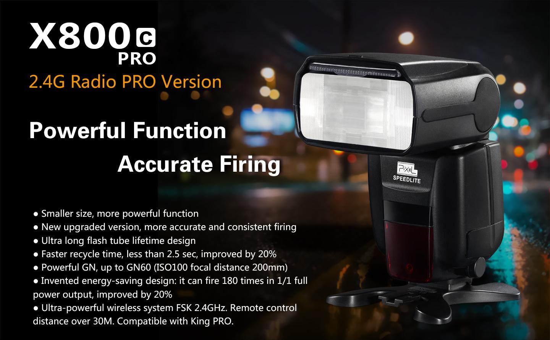 X800C PRO 2.4G Radio PRO Version