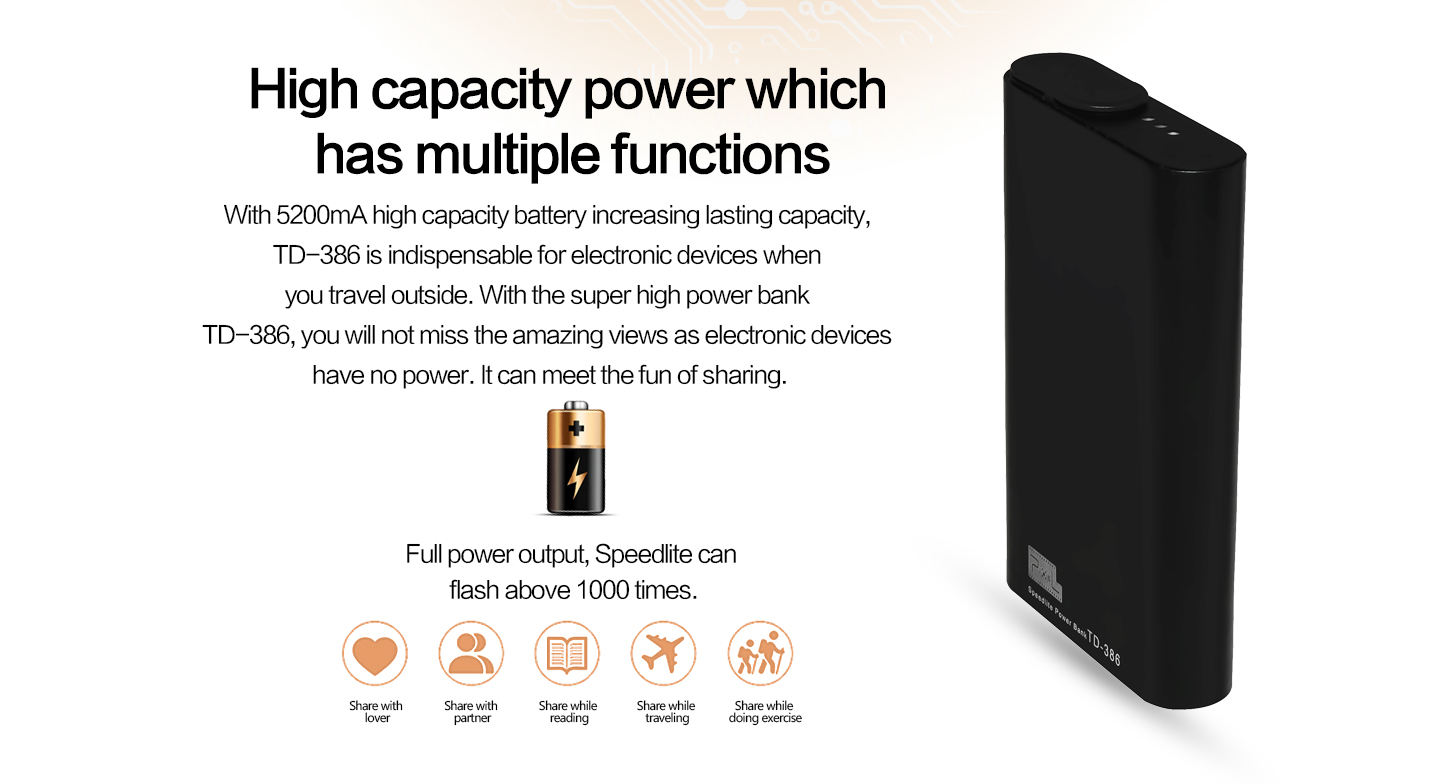 High capacity power which has multiple functions