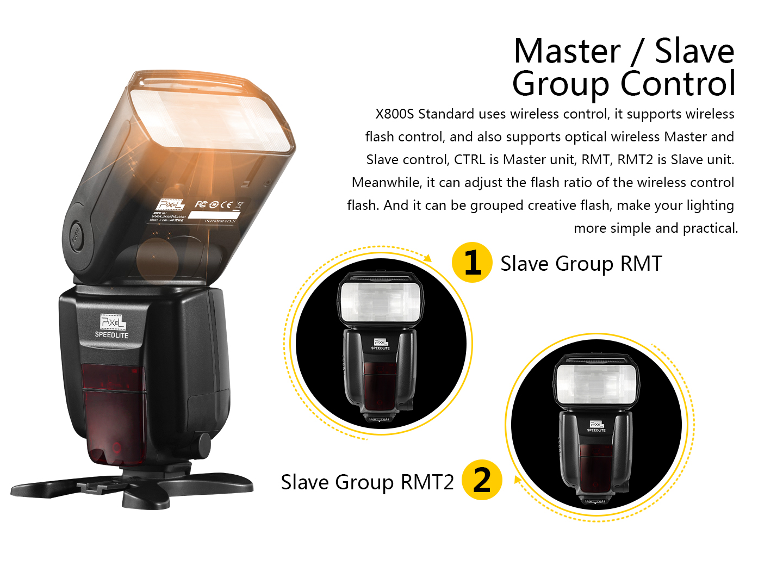 Master / Slave Group Control