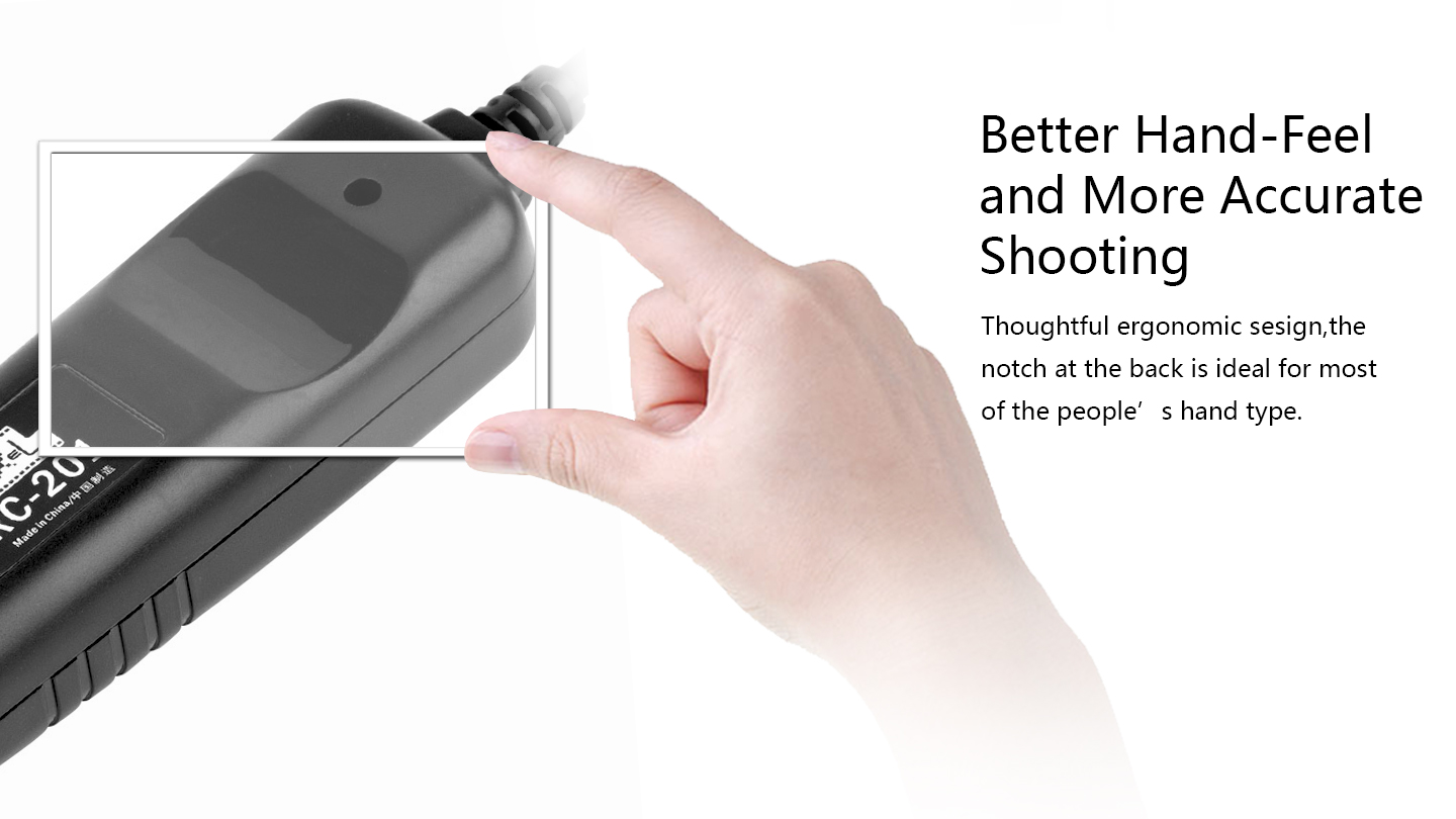 Better Hand-Feel and More Accurate Shooting