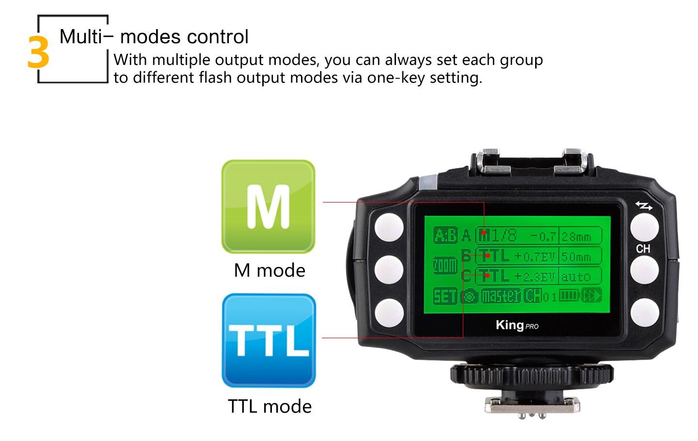 Multi- modes control