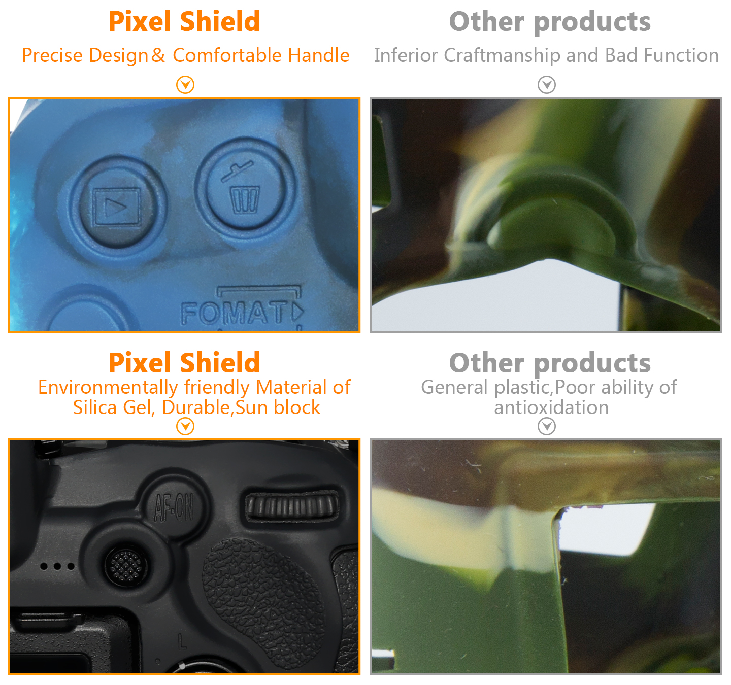 Pixel Shield VS Other products