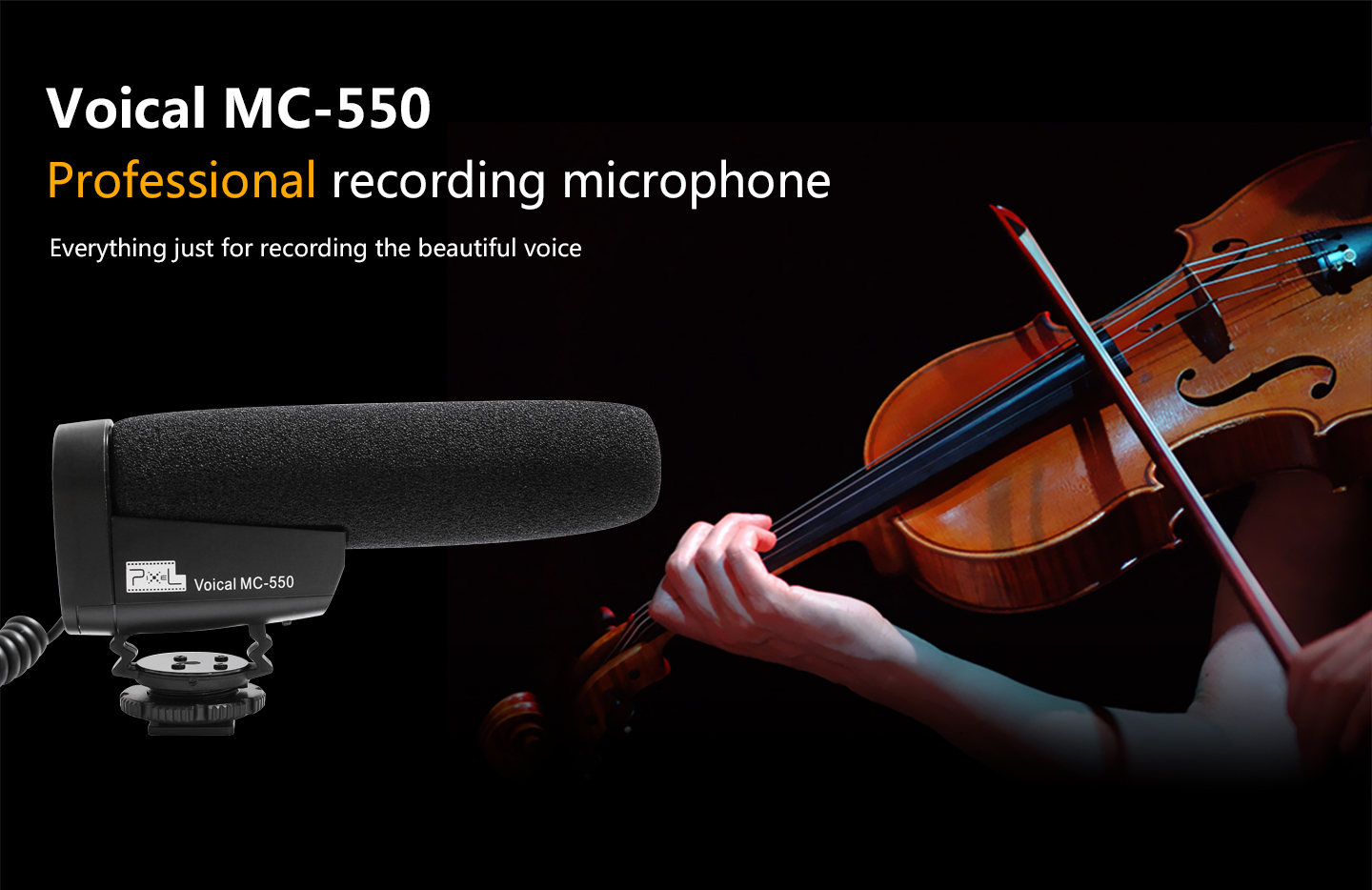 Voical MC-550 Professional recording microphone
