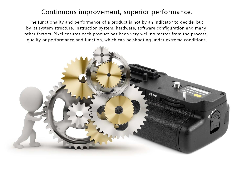 Continuous improvement, superior performance