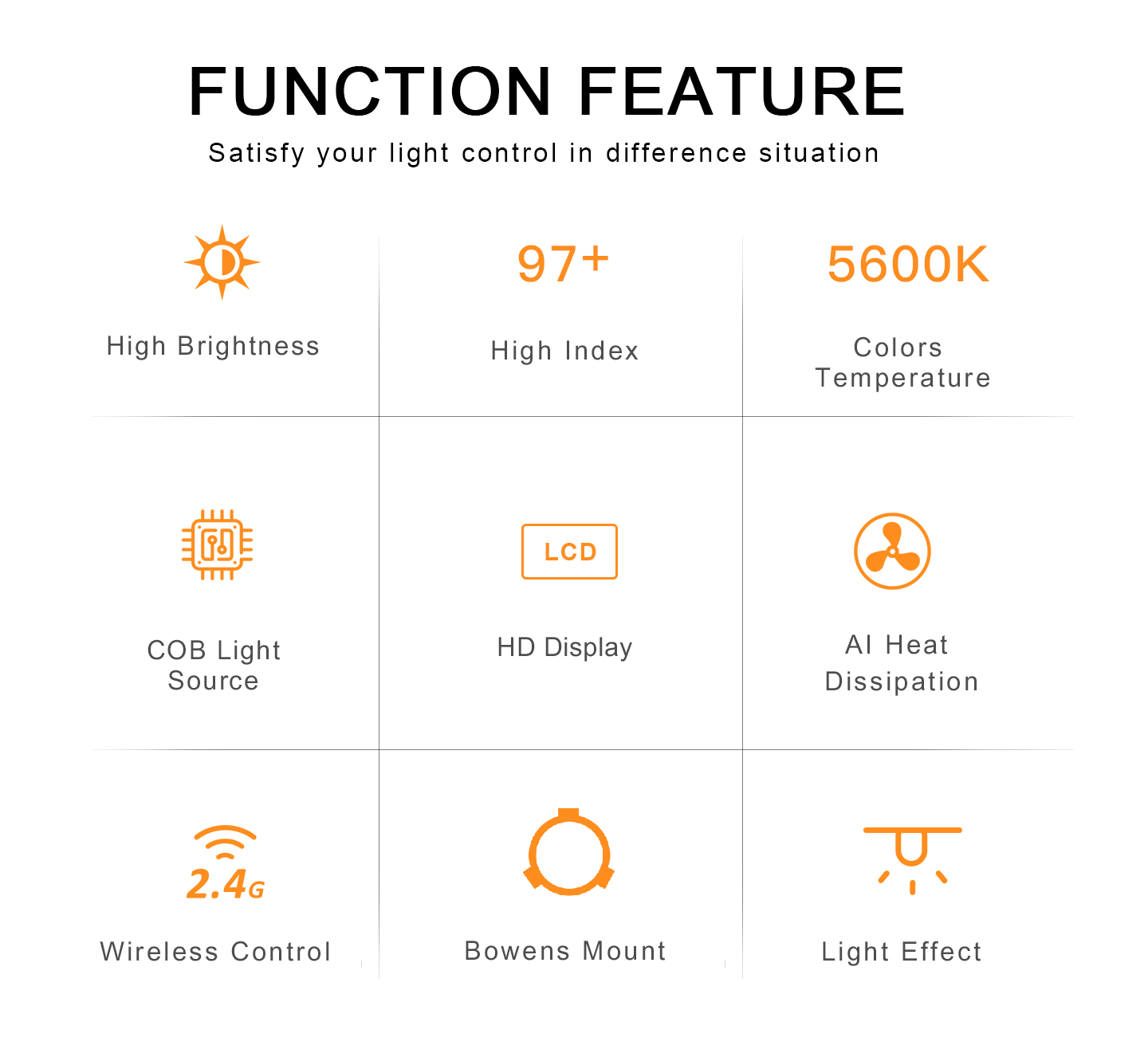 FUNCTION FEATURE