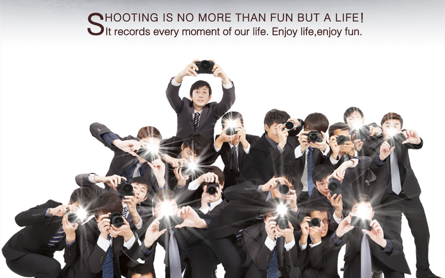 SHOOTING IS NO MORE THAN FUN BUT A LIFE