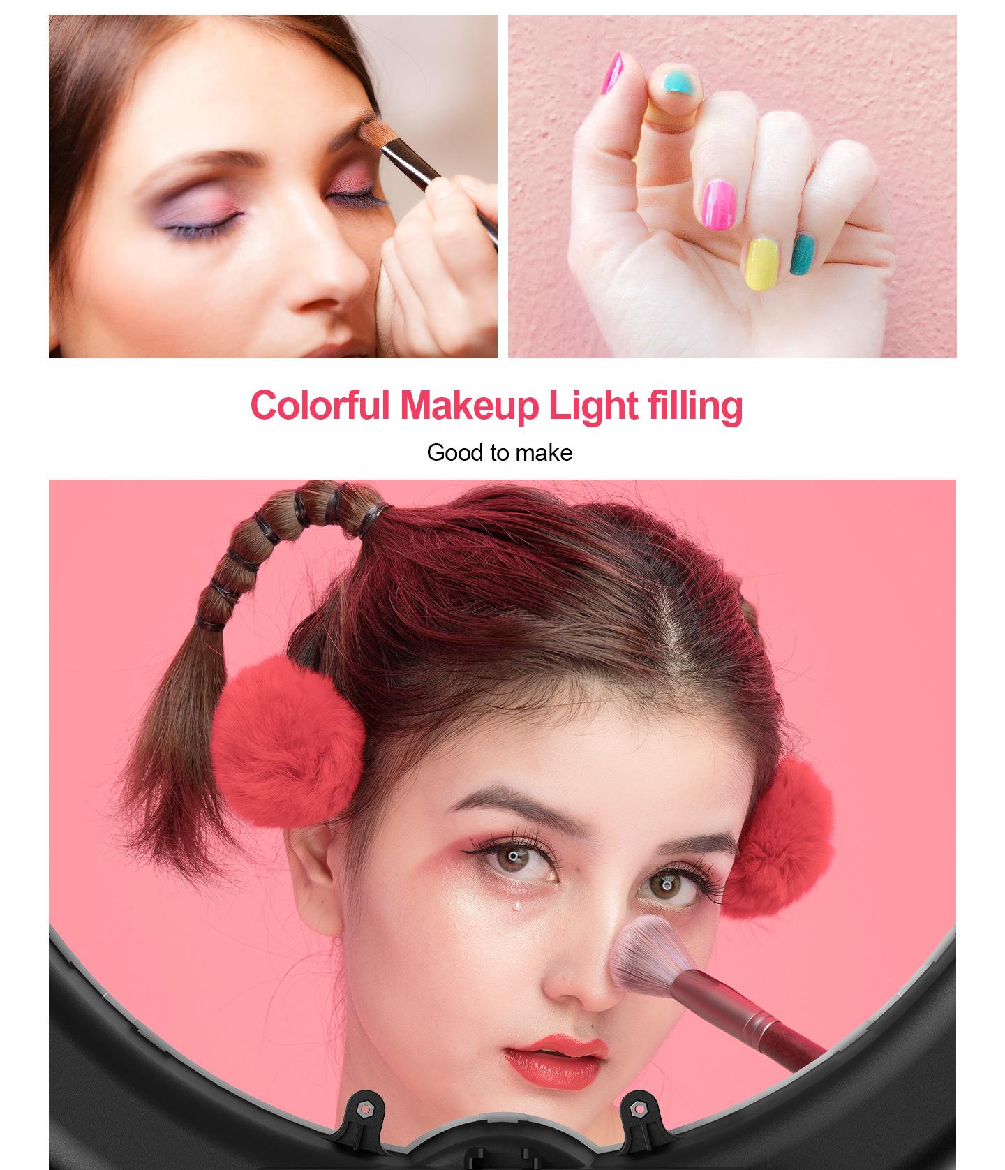 Colorful Makeup Light filling