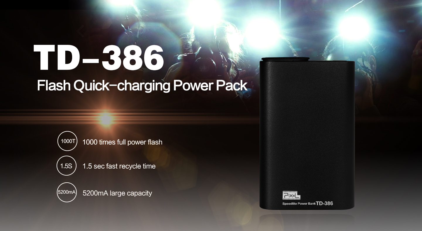 TD-386 Flash Quick-charging Power Pack