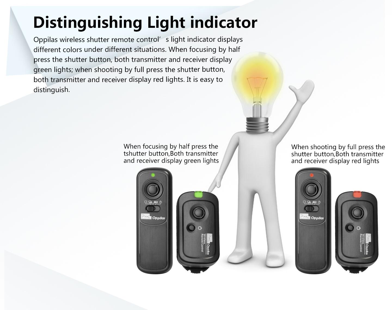 Distinguishing Light indicator