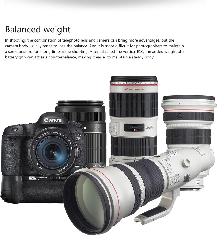 Balanced weight
