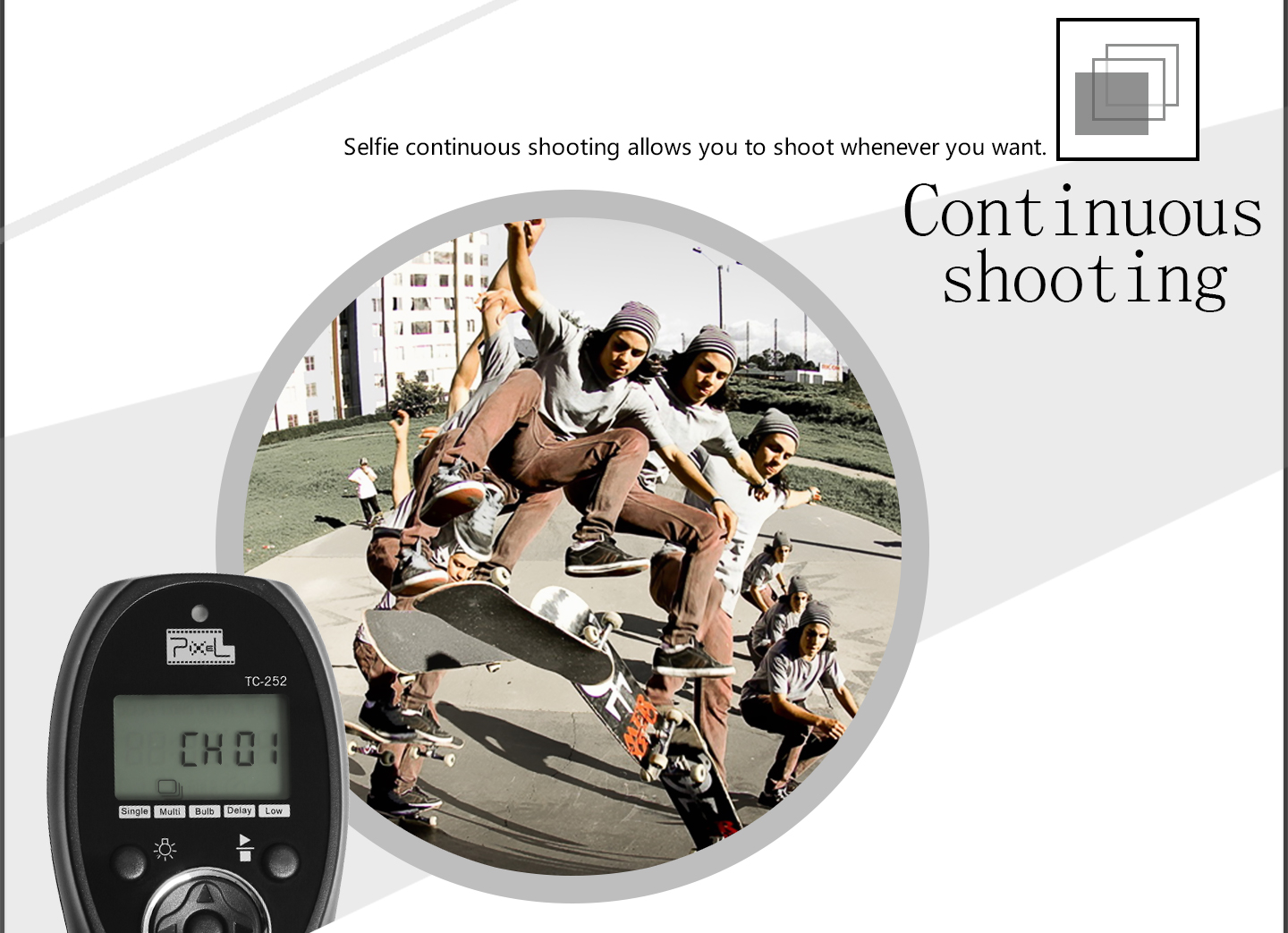 Continuous shooting