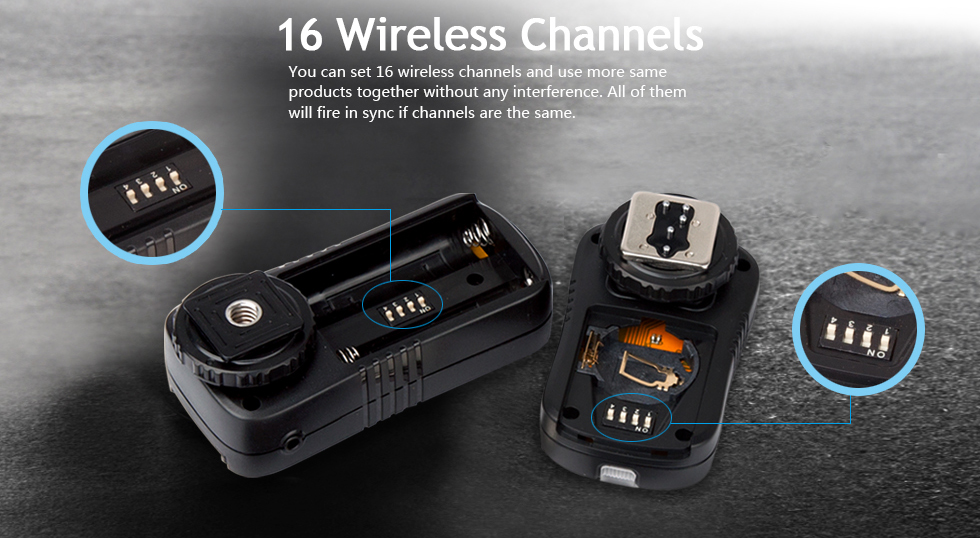 16 Wireless Channels