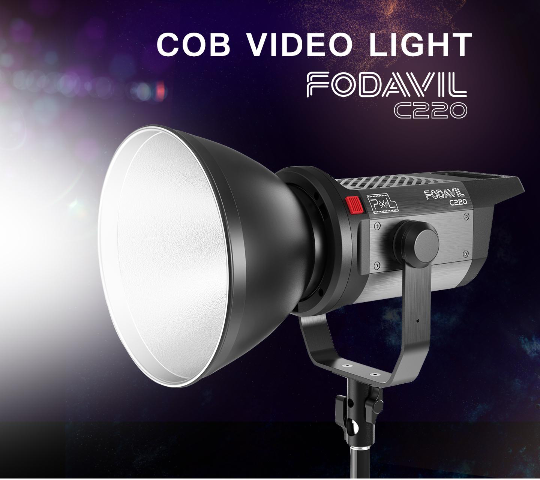 COB VIDEO LIGHT FODAVIL C220