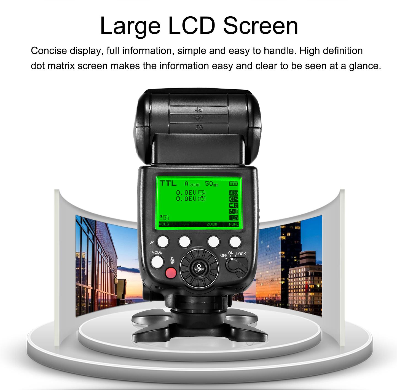 Large LCD Sreen