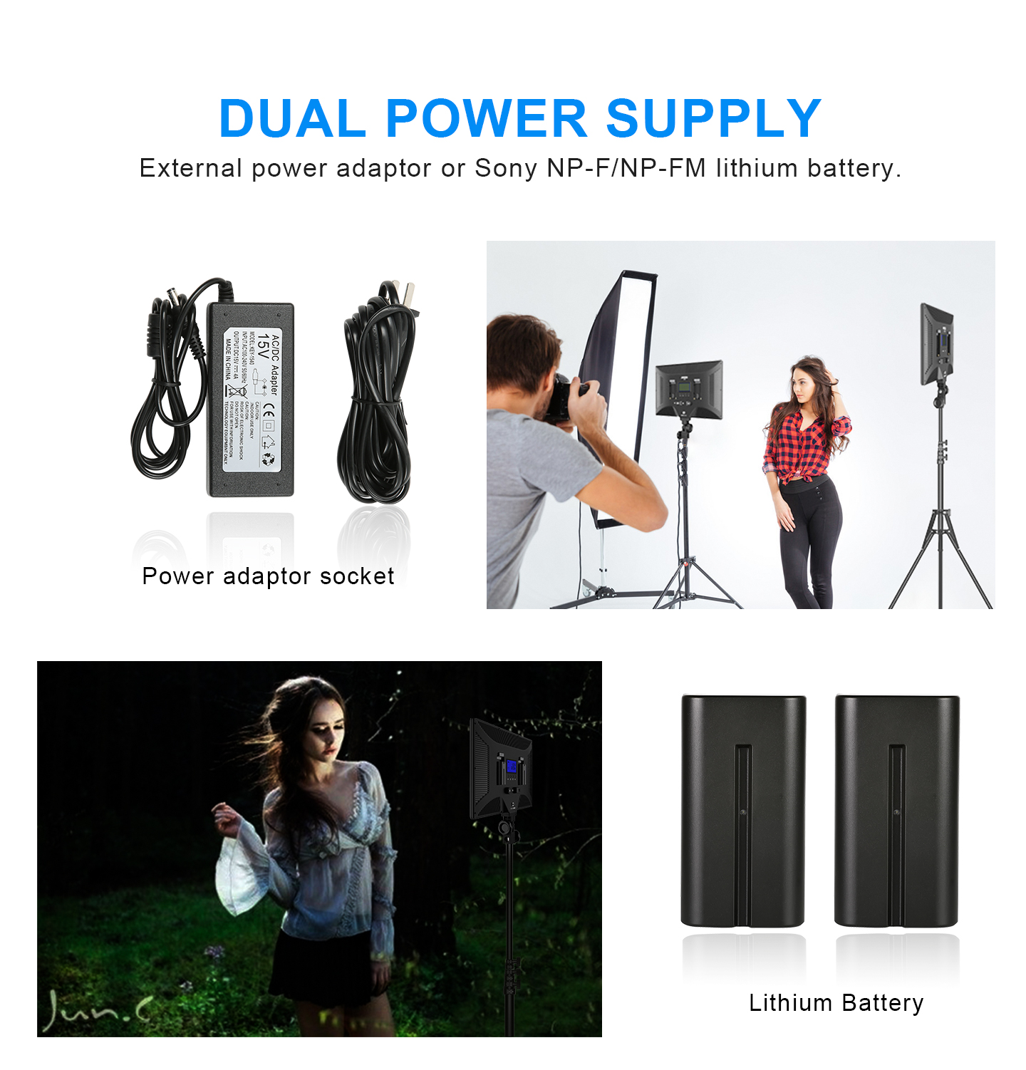 DUAL POWER SUPPLY