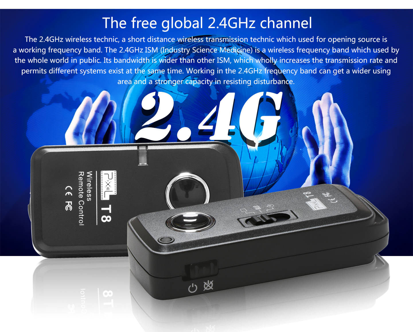 The free global 2.4GHz channel