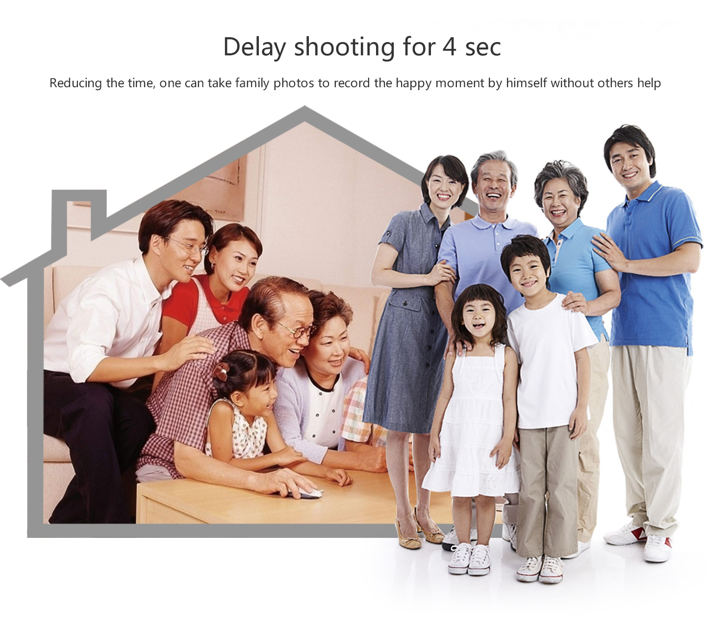 Delay shooting for 4 sec