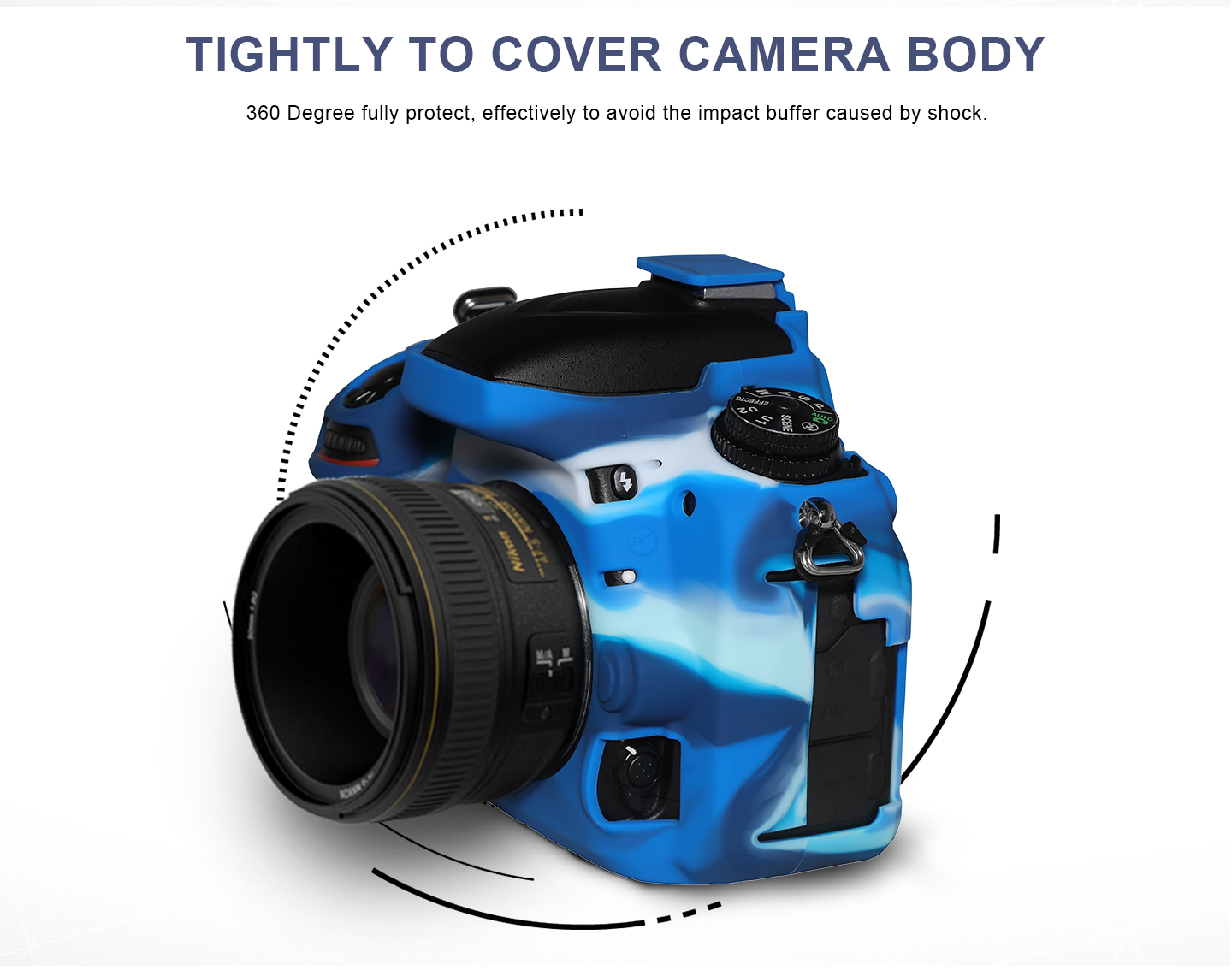 TIGHTLY TO COVER CAMERA BODY