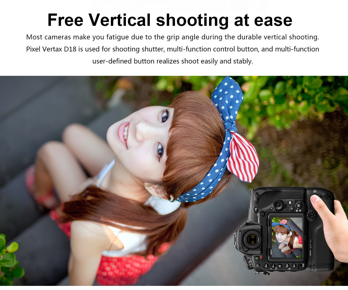 Free Vertical shooting at ease