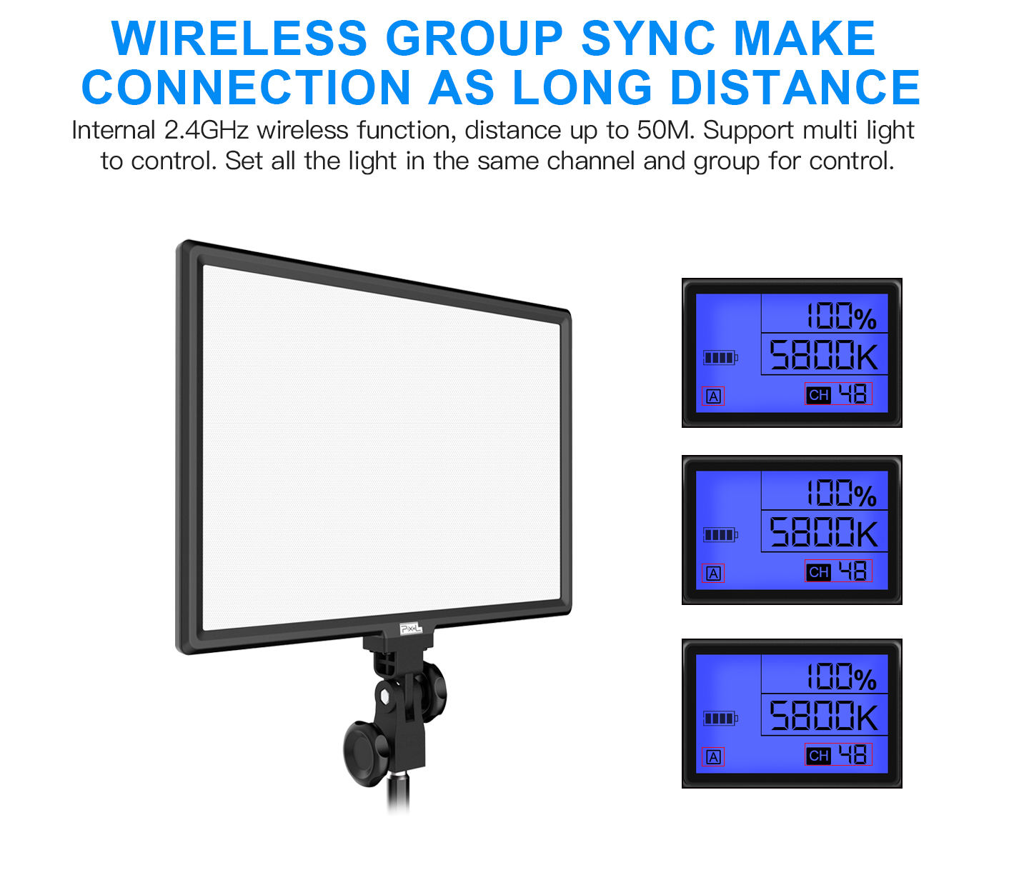 WIRELESS GROUP SYNC MAKE CONNECTION AS LONG DISANCE