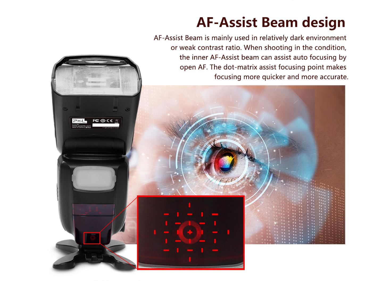 AF-Assist Beam design