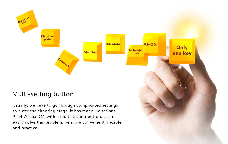 Multi-setting button