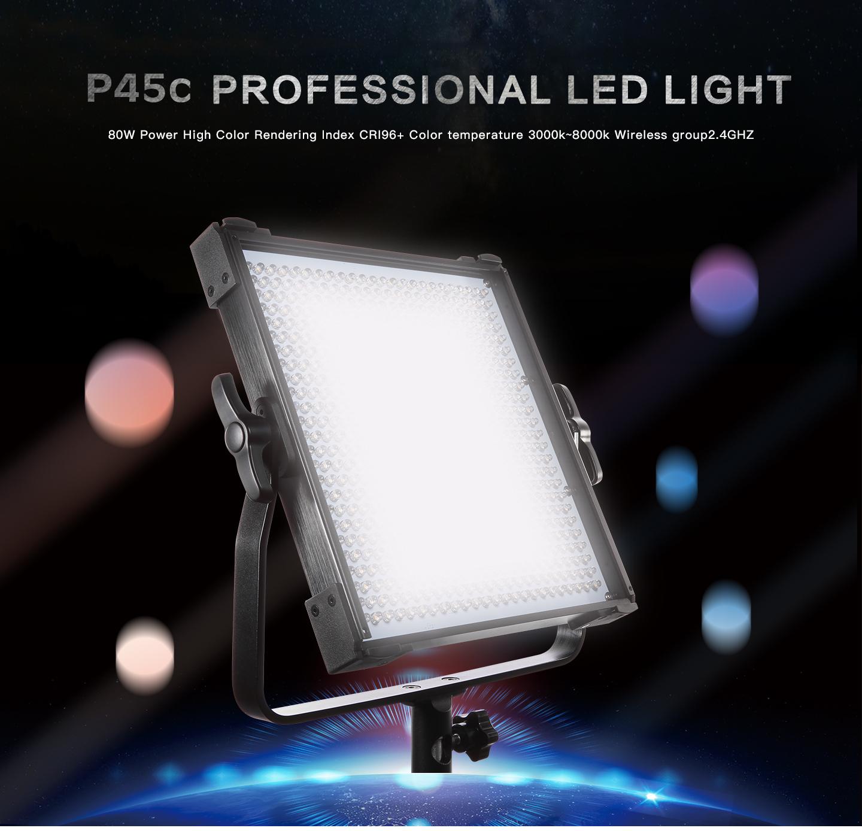 P45c PROFESSIONAL LED LIGHT