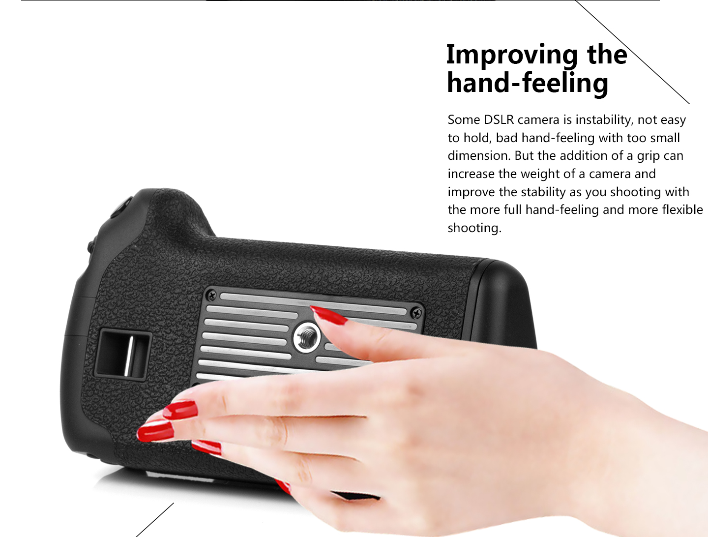 Improving the hand-feeling