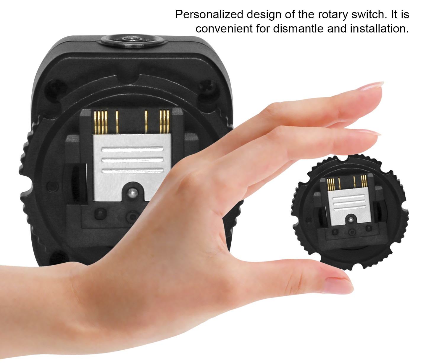 Personalized design of the rotary switch