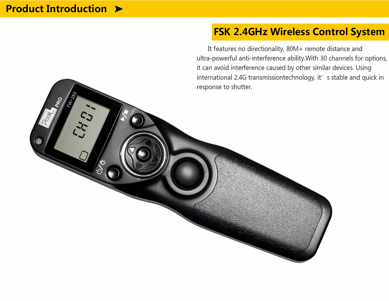 FSK 2.4GHz Wireless Control System