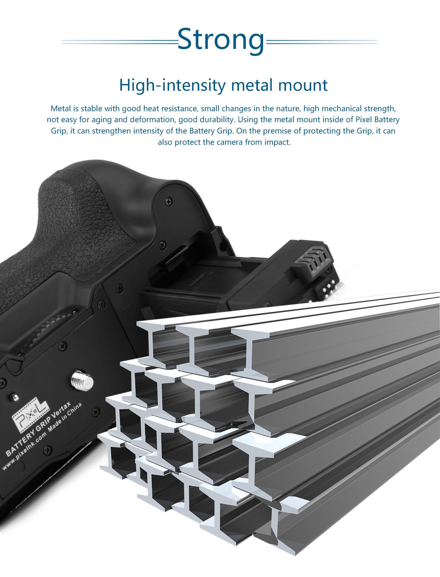High-intensity metal mount
