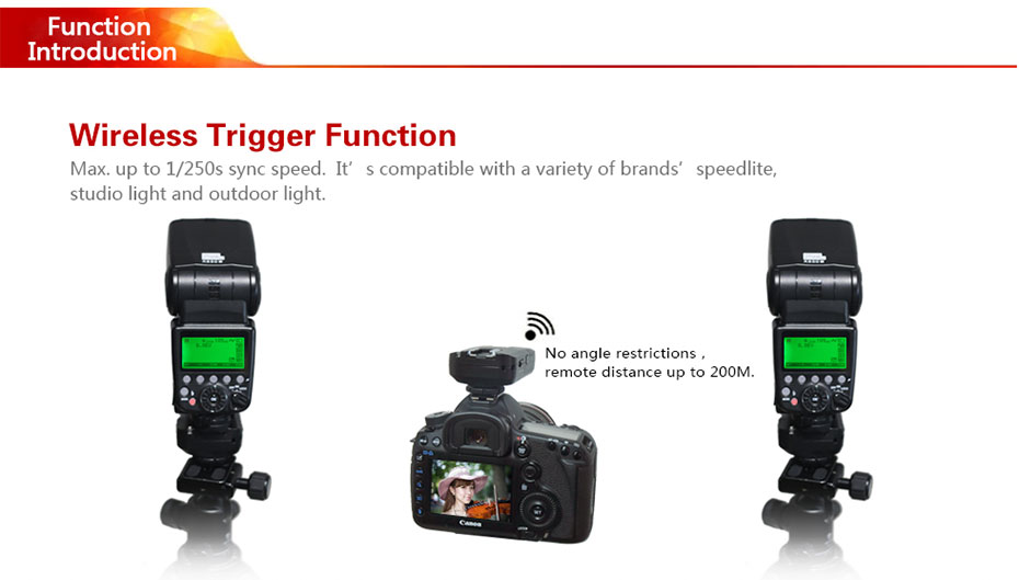 Wireless Trigger Function