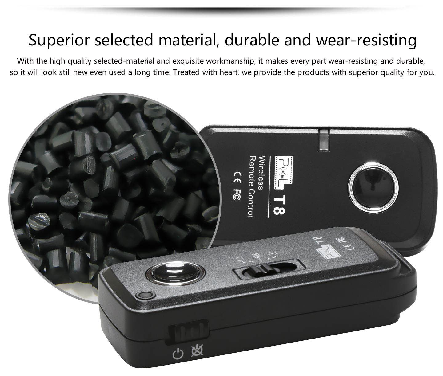 Superior selected material, durable and wear-resisting