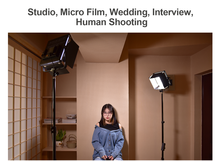 Stuio, Micro Film, Wedding, Interview, Human Shooting