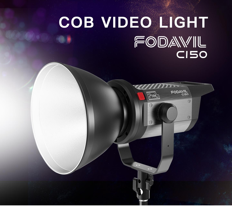 COB VIDEO LIGHT FODAVIL C150