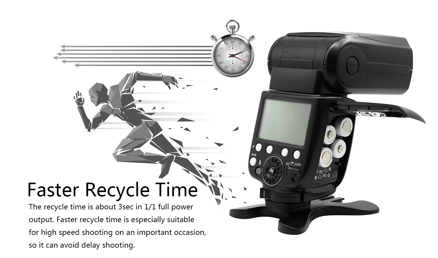Faster Recycle Time