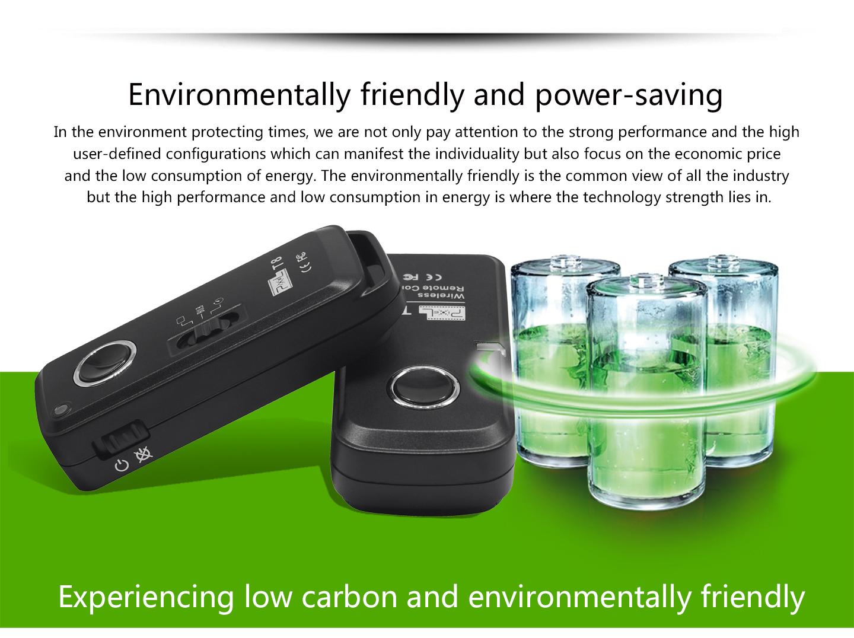 Environmentally friendly and power-saving