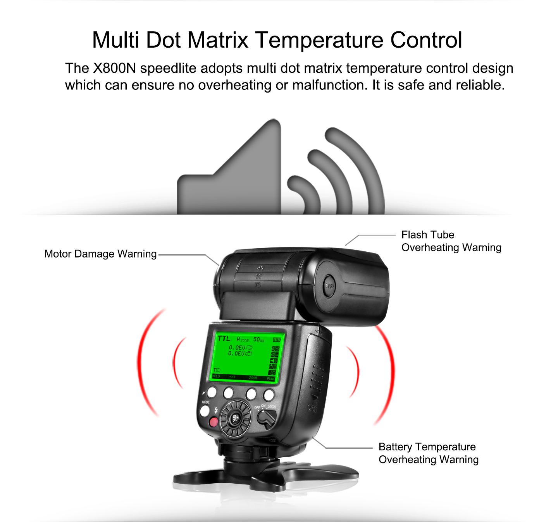 Multi Dot Matrix Temperature Control