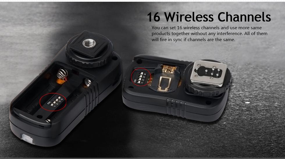 16 Wireless Channels