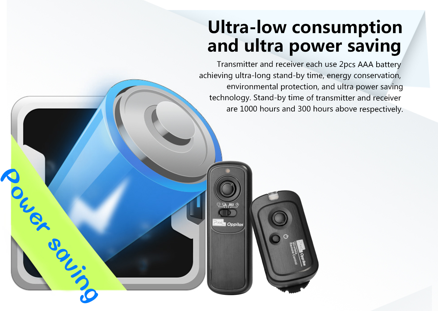 Ultra-low consumption and ultra power saving