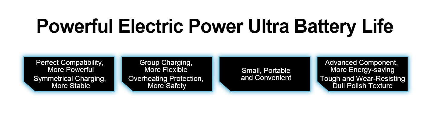 Powerful Electric Power Ultra Battery Life